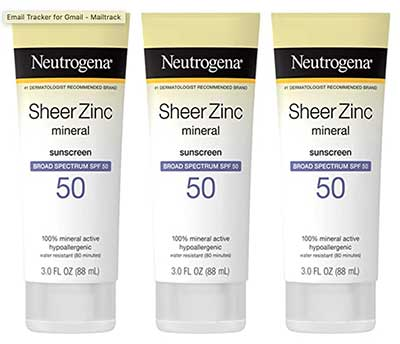 Neutrogena - Sheer Zinc Oxide Dry-Touch Sunscreen Lotion SPF 50