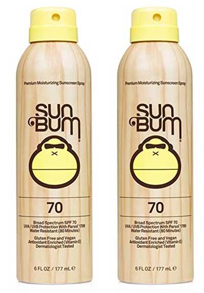 Sun Bum Original Moisturizing Sunscreen Spray SPF 30