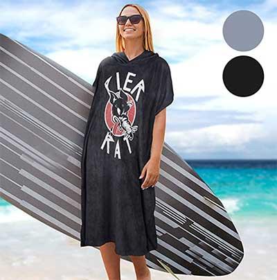 Catalonia classic Surf Poncho Changing Robe- Hoodie Towel