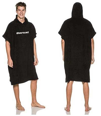 DORSAL Thick Microfiber Surf Poncho - Wetsuit Changing Towel Robe