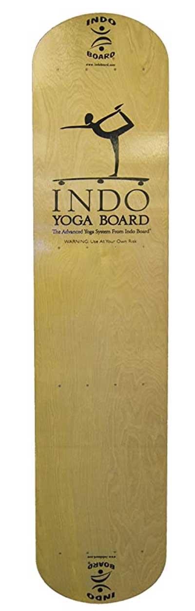 INDO BOARD Yoga Board with Wood Deck