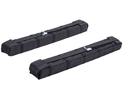 Orion Motor Tech Lightweight Anti-Vibration Universal Car Soft Roof Rack Pad