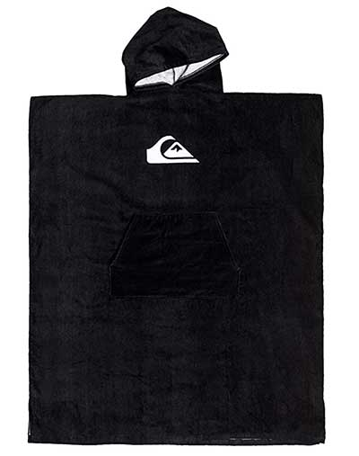 Quiksilver Hooded Poncho Beach Towel